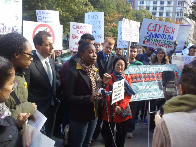 NYC Coalition to Stop Credit Checks in Employment