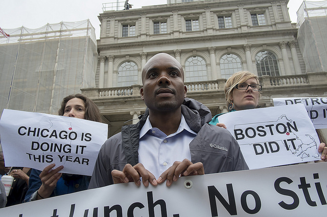 Advocates Rally for Universal Free Lunch at City Hall Press Conference--William Alatriste New York City Council Photo: William Alatriste for New York City Council