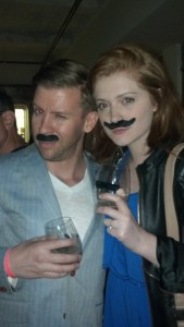 Curious Travelers rock a mean stache