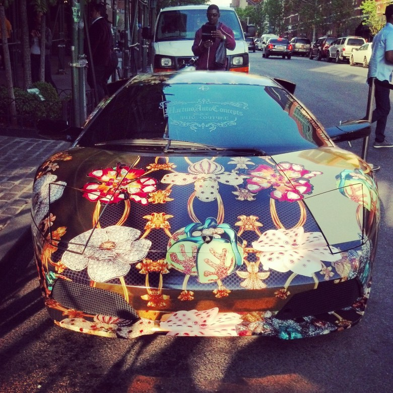 Lambo Diablo, candy paint with wild designs
