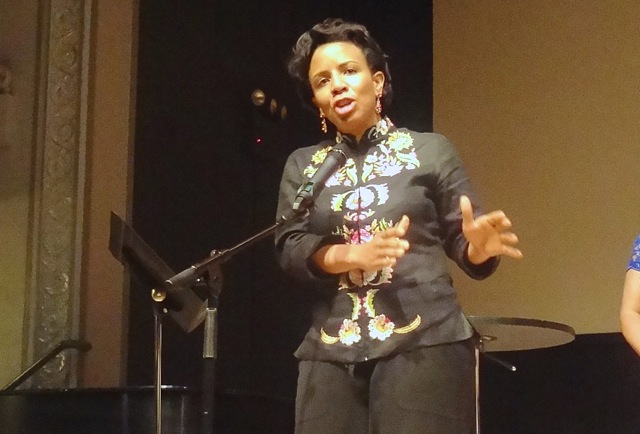"""Laurie Cumbo speaks at """"The Courage to Change"""" fundraiser for YWCA of Brooklyn"""