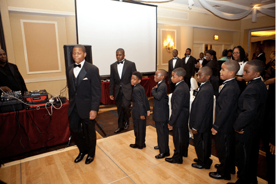 Young participants at the Chionesu BakariAnnual Rites of Passage and Awards Gala 2013