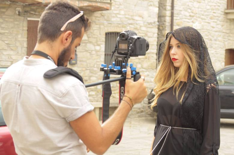 """Filming """"La Madrina"""" (The Godmother) in Guardia Perticara, Italy"""