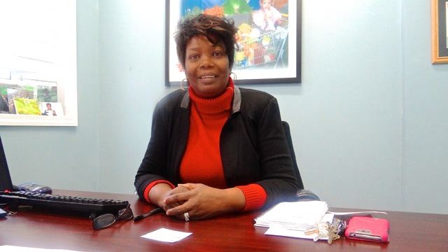Dr. Melony Samuels, founder and executive director of the Bed Stuy Campaign Against Hunger