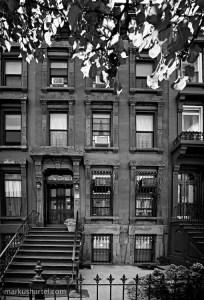 The original Bed-Stuy brownstone salon on Hancock Street, where Miss Jessie's Curly Pudding was created.