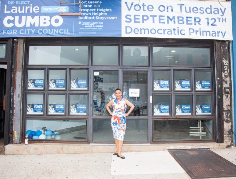 Sex education, women in the workplace, campaigning while pregnant, pregnancy, Laurie Cumbo, 35th District, BK Reader