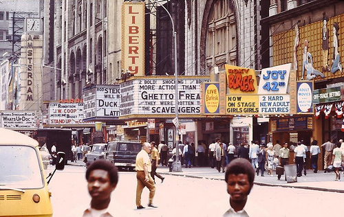 This Was Times Square in 1973