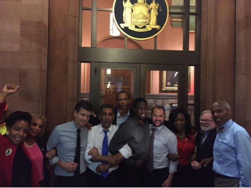 Bklyn Lawmakers Arrested Protesting Need For Stronger Rent Laws