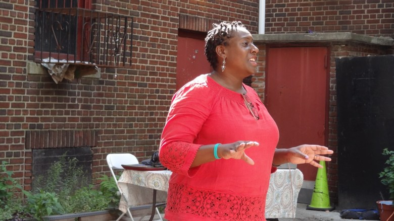 Sharon Marshal-Taylor, program manager for the Brooklyn Breastfeeding Empowerment Zone