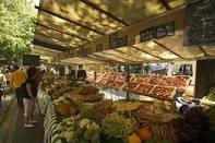 My first experience with outdoor fruit markets was in Paris