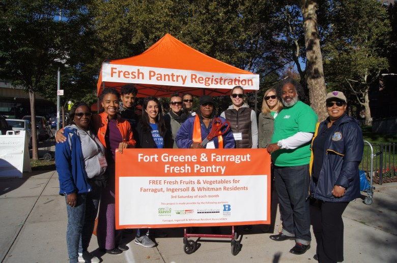 At the launch of the Farragut Fresh Pantry Photo: MARP