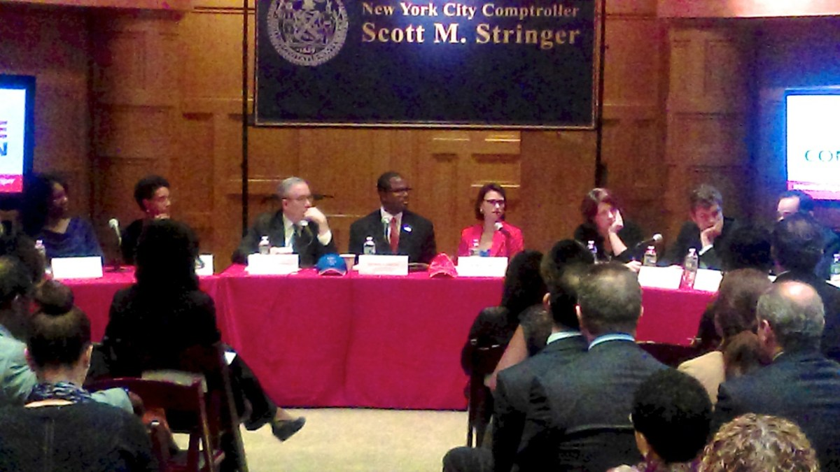 Red Tape Commission Hearing, hosted by the office of NYC Comptroller Scott M. Stringer