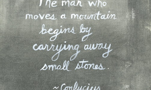 Harriet Faith, Art, Illustration, Pay Attention To Your Dreams, Quotes, Inspiration, Motivation, Dreams, Hand Lettering, Drawing, Painting, Confucius, Chinese Philosophy, Moving Mountains, Stones