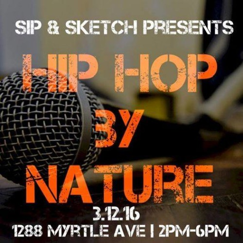 Don't Be A Wretch, Go To Sip & Sketch