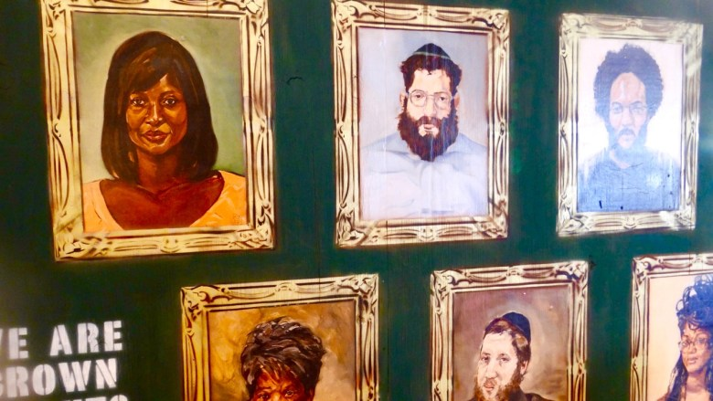 Rusty Zimmerman's Free Portrait Project features portraits of Crown Heights residents thus representing the neighborhood's diversity.