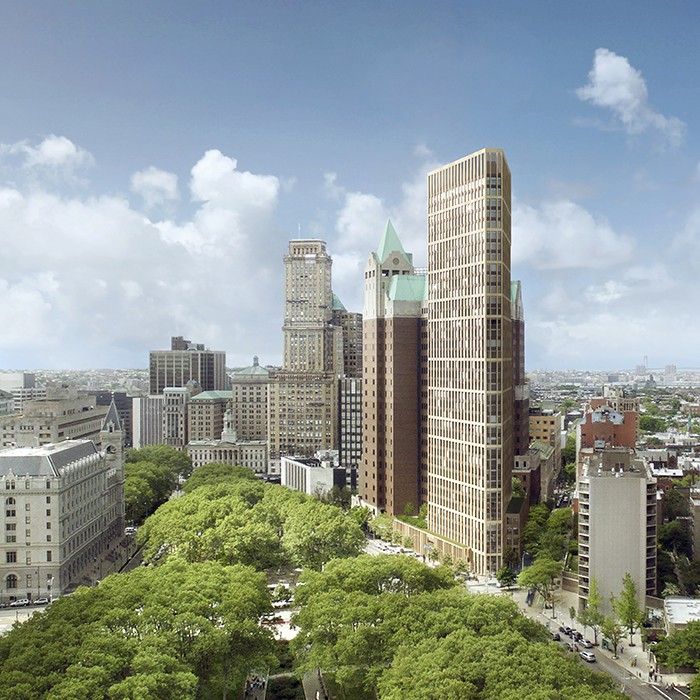 New developments in Brooklyn Heights Library plan