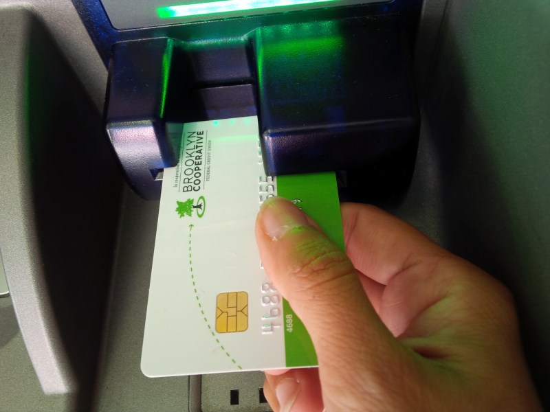 B coop, Brooklyn Cooperative, chip card, EMV chip, fraud, banking