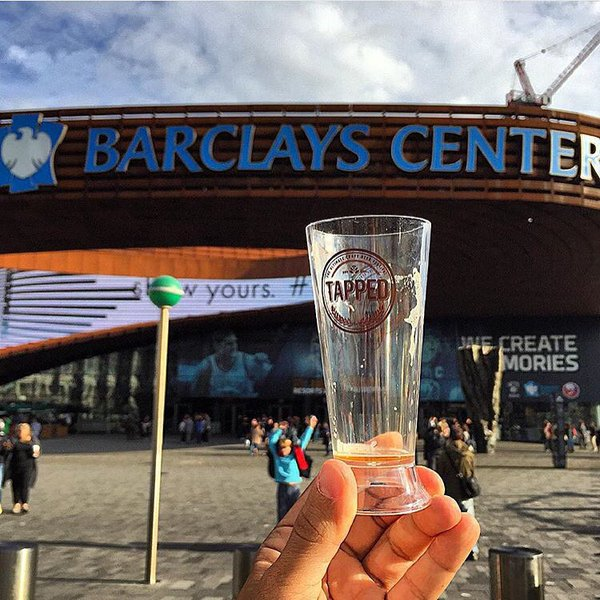 TAPPED, craft beer festival, brooklyn, barclays center