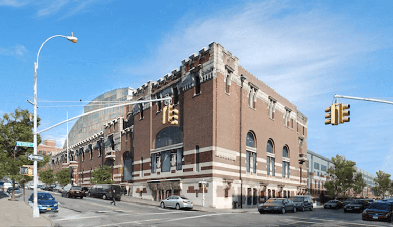 The Bedford-Union Armory on Bedford Avenue in Crown Heights