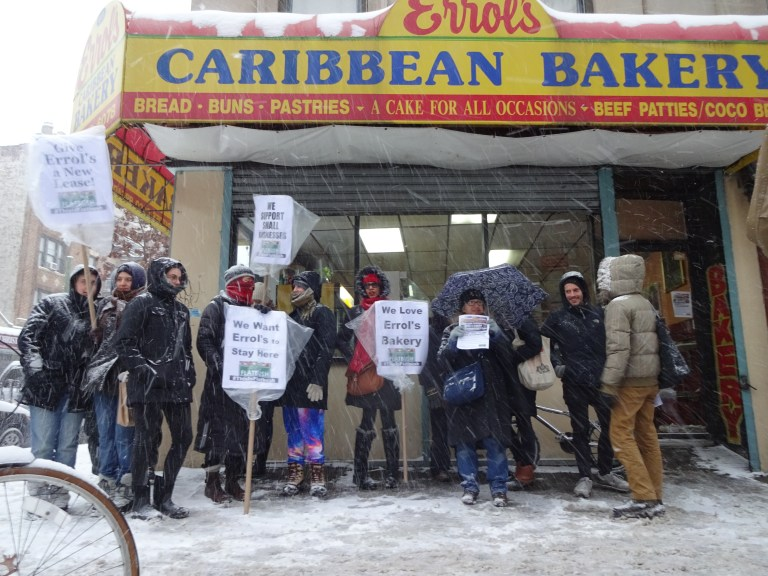 Errol's Bakery, Equality for Flatbush, gentrification, Brooklyn small businesses, small businesses closing, Small Business Jobs Survival Act, 661 Flatbush Ave