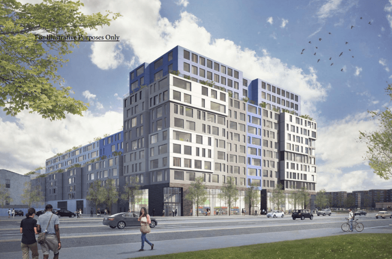East New York, redevelopment, BK Reader, Magnusson Architecture, revitalization, gentrification, residential space, commercial space, retail space, community facility, redevelopment, Brooklyn development, affordable housing