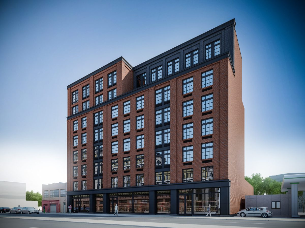Sterling Town Equities, Issac & Stern Architect, BK Reader, affordable housing, housing lottery, affordable appartments, housing Clinton hill, retail space Clinton Hill,
