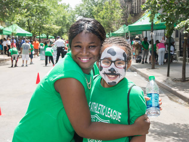 summer kids program, kids activities, free kids activities, arts, crafts, sports, PAL, Brooklyn Reader, Playstreets, homeless shelter, parks, public spaces, homeless youth, Brooklyn public spaces, East New York, Fort Greene, Police Athletic League