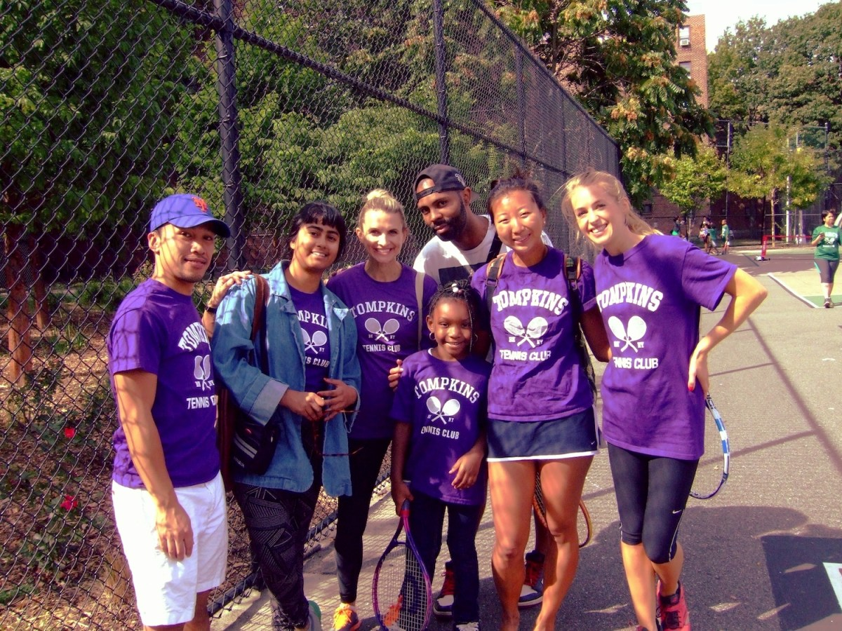 Kings County Tennis League, BK Reader, youth building, youth development, youth sports, United States Tennis Association, Marcy Houses, Lafayette Gardens, Sumner Houses, Tompkins Houses
