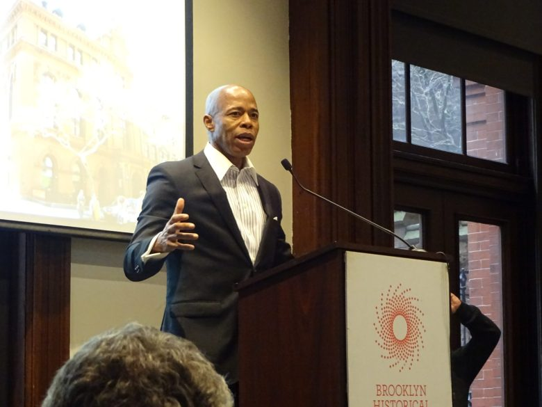 Current Brooklyn Borough President Eric Adams describes his vision for the future of Brooklyn.