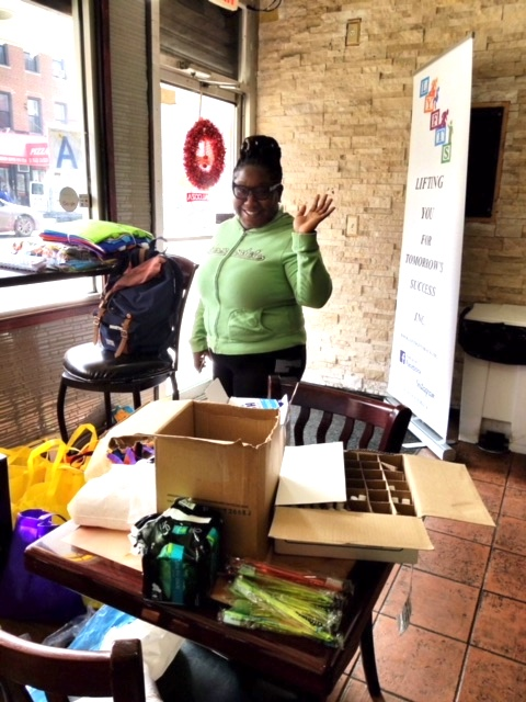 Keshia Adams, BK Reader, East Flatbush, homeless, care packages, Palooza Kitchen, back-to-school drives, toy drives, Help USA, Lifting You for Tomorrow's Success, minority-owned business, Flatbush, East New York, Brownsville, back