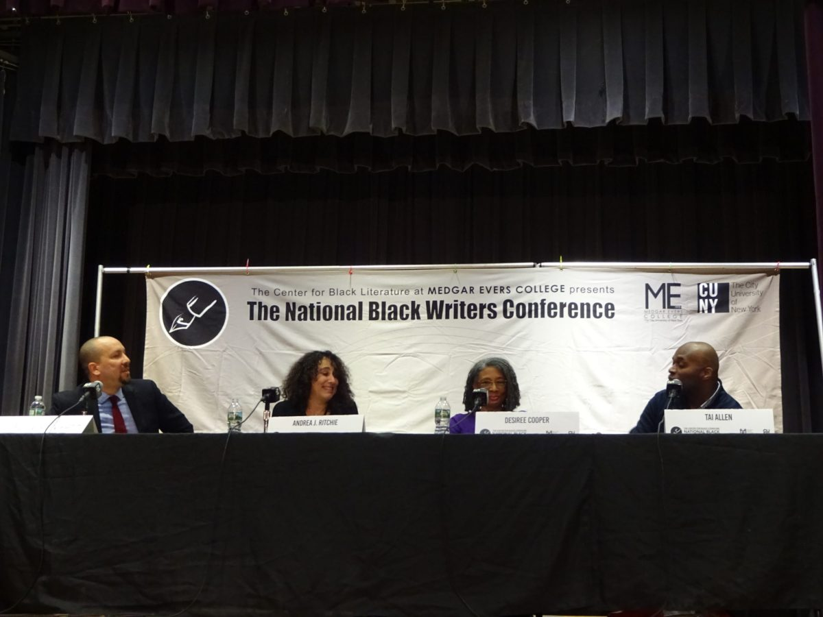 National Black Writers Conference, Gathering at the Waters: A Call for Healing, black literature, Josef Sorett, Desiree Cooper, Andrea J. Ritchie, Tai Allen, healing through writing, police violence, traumatic stories, literary activism, Medgar Evers College