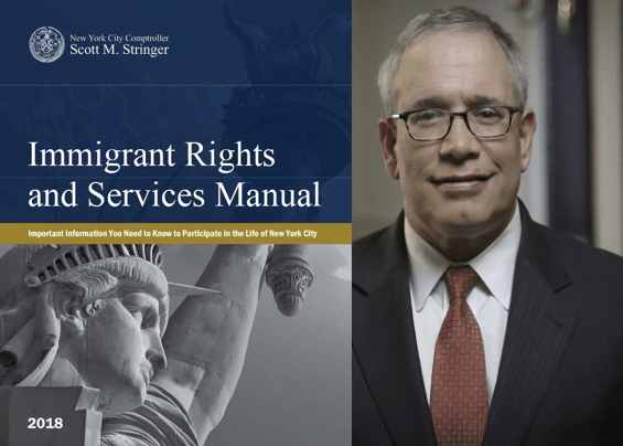 immigrant rights, Medgar Evers College Immigration Center, Comptroller Scott M. Stringer, ICE, immigrant rights, Brooklyn immigrants, immigrant rights manual, NYC immigrants
