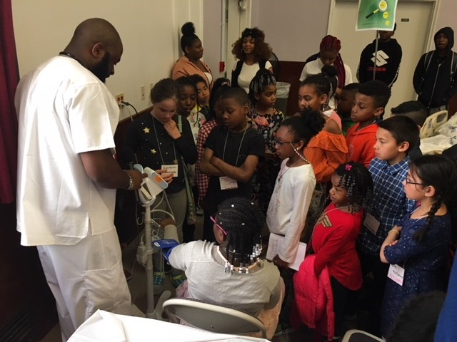 """Kings County Hospital celebrated """"Take Our Daughters and Sons to Work Day."""""""