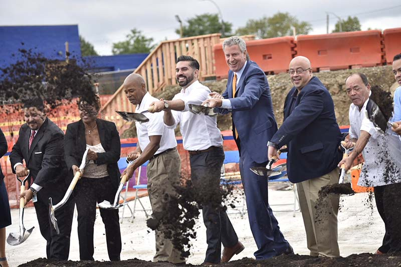 New 1000-seat school, part of East New York Neighborhood Plan, will include state-of-the-art science labs, occupational and physical therapy spaces, art and music rooms, and 1,000 square-foot rooftop greenhouse