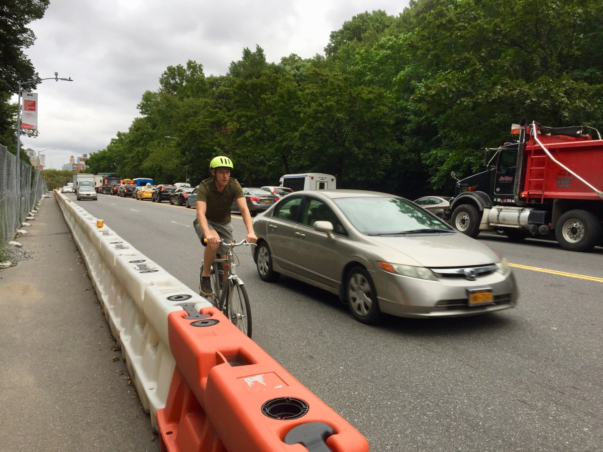 In 2016, members of Transalt launched a petition for a bike lane along Flatbush Avenue.