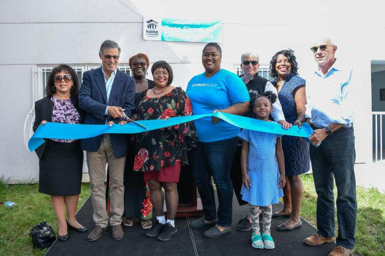 Habitat for Humanity NYC celebrated the opening of Brownsville's Dean Street Residences.
