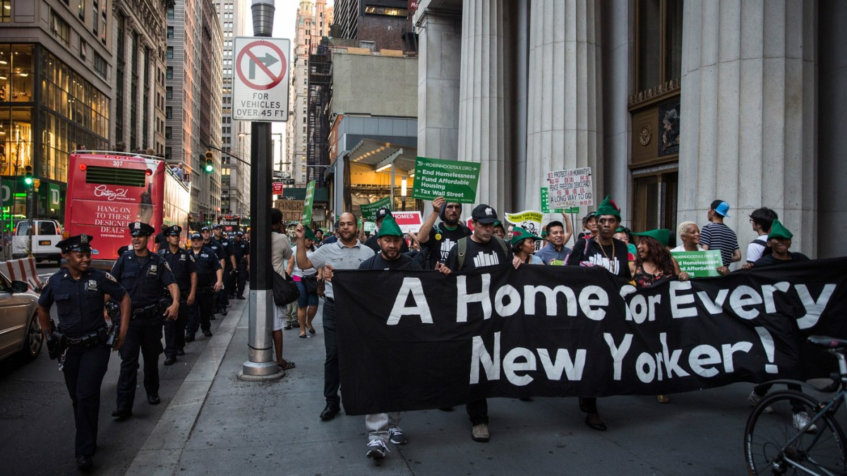 NYC has lost over one million affordable apartments.