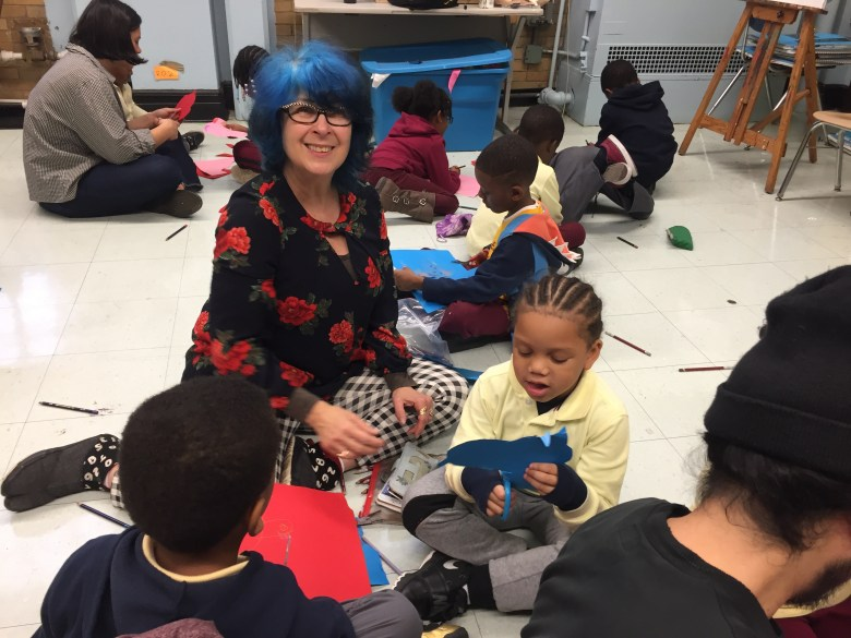 The multi-disciplinary arts program Time In exposes young scholars in underfunded public schools to the higher arts.