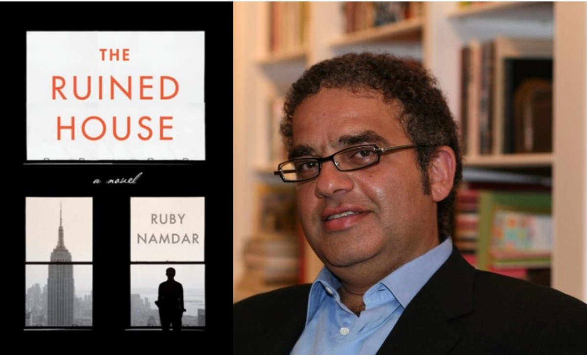 Namdar will discuss his award-winning novel 'The Ruined House' which wrestles with ideas of materialism, Jewish tradition and faith in contemporary culture.
