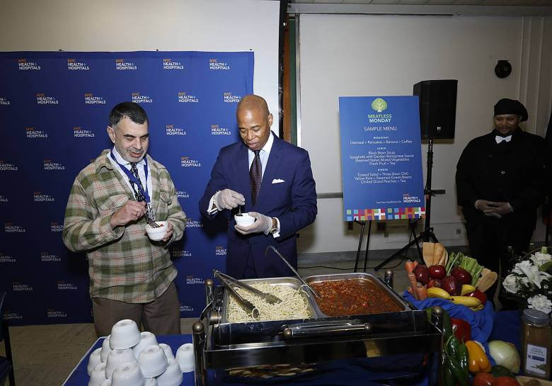 """NYC Health + Hospital announced today the launch of its new, citywide initiative """"Meatless Mondays."""""""