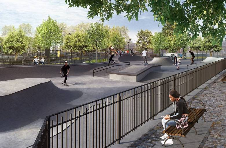 Just in time for its centennial, Betsy Hard Park will get a complete makeover including new basketball courts, a teen fitness parkour and a skate park.