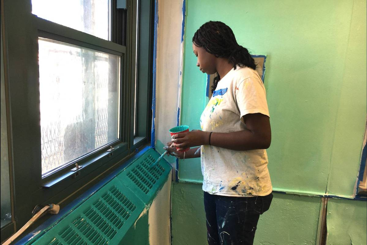 Publicolor engages East Flatbush students through design-based programs that mentor them for success in school and life