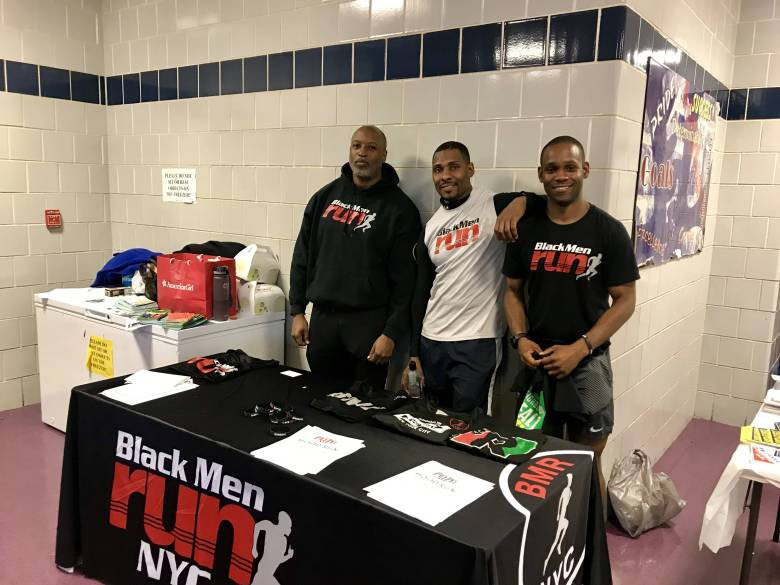 The summit was accompanied by a resource fair, featuring various community organizations including Black Men Run.