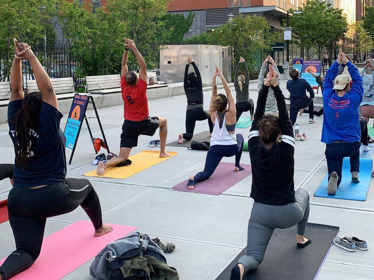 Myrtle Avenue Plaza will be Clinton Hill's hot-spot for free free concerts, fitness classes and arts programs