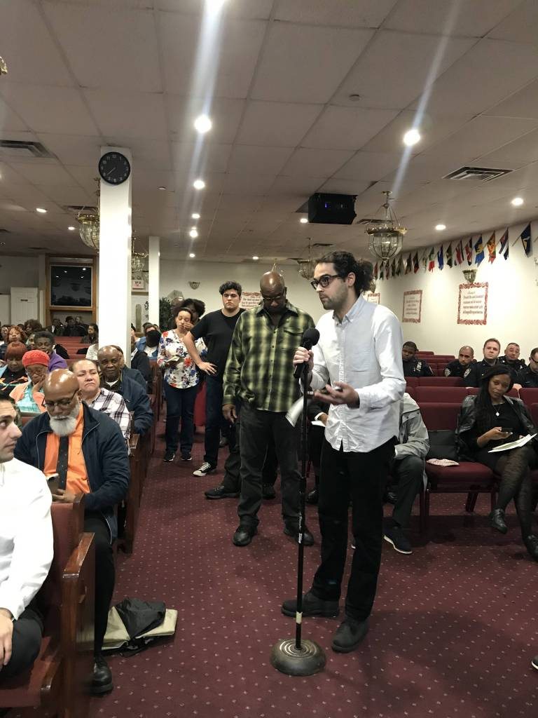 Rep. Hakeem Jeffries gathered city officials to address the concerns of East New York and Brownsville residents