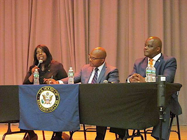 Legislators discussed recent strides in criminal justice reform including re-entry and job training, eliminating cash bail, the Fair Chance Act and more.