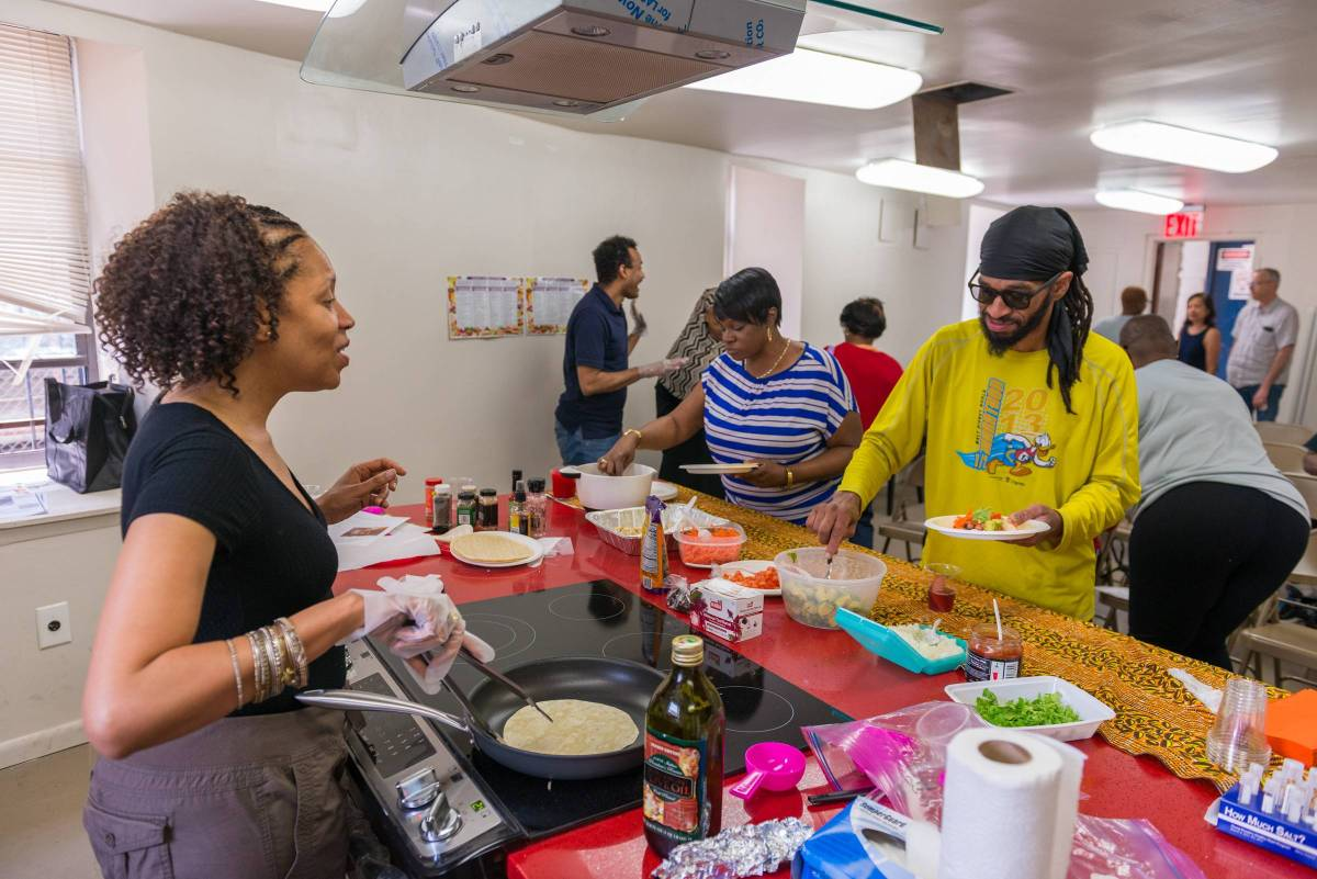 The Brownsville community event featured healthy cooking demonstrations with delicious recipes and scrumptious food samples.