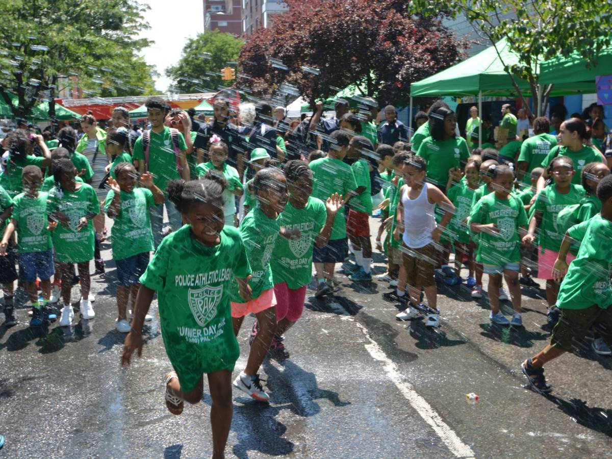 Playstreets get Brooklyn kids engaged in physical activities, teach positive life choices and provide helpful resources in their communities