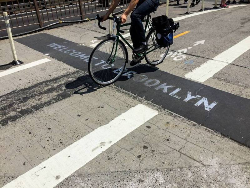 De Blasio released the Green Wave Plan, a $58.4 million plan to enhance street safety with more bike lanes, street redesigning and enforcement strategies.