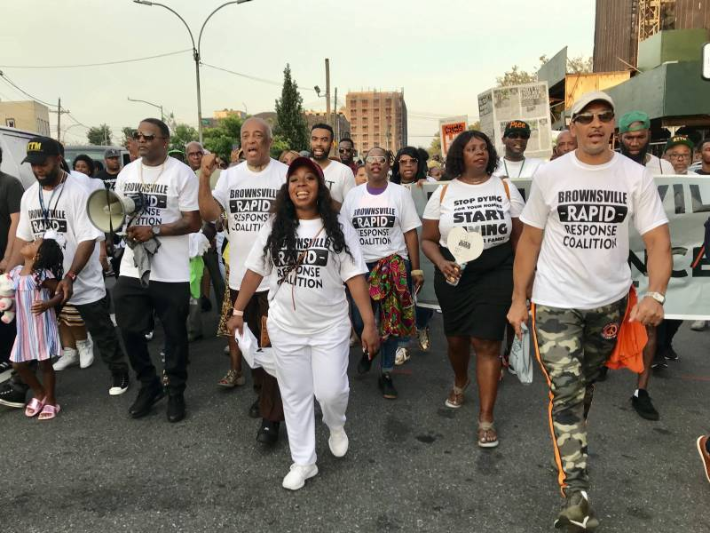 Hundreds came out to demonstrate that Saturday's incident cannot be normalized or reduced to just another shooting.